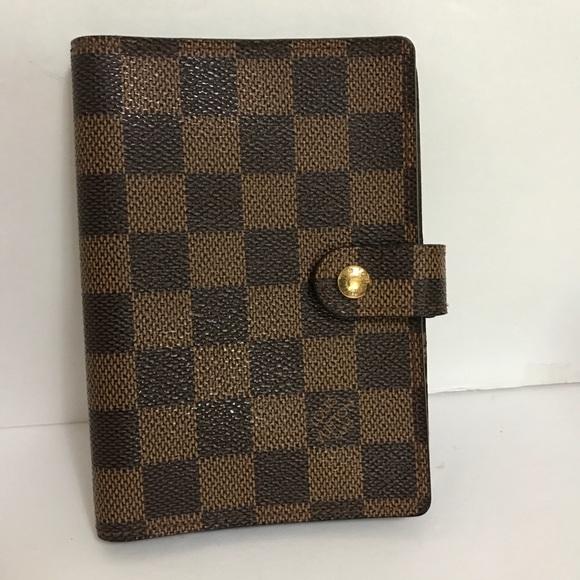 Louis Vuitton Handbags - Louis Vuitton Agenda Damier PM size